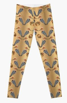 WHOOPOE HOOPOE 289. Leggings Designed by sana90 Hoopoe Bird, Great Artists, Beautiful Outfits, Cool Art, Women's Fashion, Leggings, Design, Fashion Women