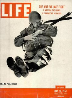 Life Cover - Falling Paratrooper