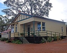 Kalamunda History Village is local History Museum and is located on the site of the old Upper Darling Range Railway Station built in the Local History, History Museum, Historical Society, Shed, Old Things, Outdoor Structures, Building, Outdoor Decor, Home