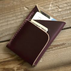 Double-Cross Wallet by Inkleaf Leather - $40