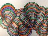 4th grade line op art