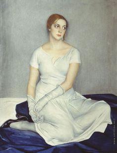 Portrait of Actress N. Kovanko, Savely Sorine