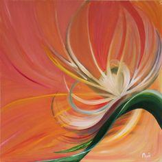 "Saatchi Online Artist Azmi Shajahan; Painting, ""Bloom"" #art"