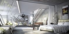 Authentic, unpretentious and trendy, industrial style interiors have gained plenty of popularity in the last few years. The conversion of old existing buil
