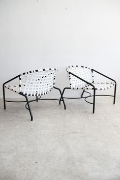 Tadao Inouye For Brown Jordan Kantan Chairs And Ottoman