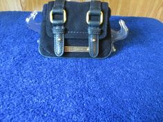 Authentic Juicy Couture Midnight Navy Wallet/Coin Purse W/Key Fob #JuicyCouture #WalletCoinPurse