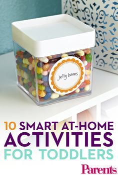 Encourage cognitive and language development with these fun, everyday learning activities.