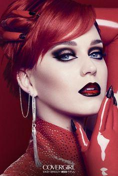 Ombre Lips, Pink Lips, Covergirl, Beauty Makeup, Eye Makeup, Makeup Set, Hair Makeup, Scary Eyes, Look Festival
