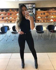 gorgeous winter outfits to inspire you 42 Fall Fashion Outfits, Winter Outfits, Girl Fashion, Womens Fashion, Fashion Tips, Classy Outfits, Chic Outfits, Trendy Outfits, Cute All Black Outfits