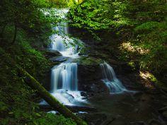 Waterfall at Ricketts Glen Five by Joe Matzerath - Photo 133107709 - 500px