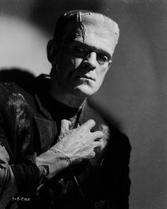 "Boris Karloff in ""The Bride of Frankenstein"" (1935)"