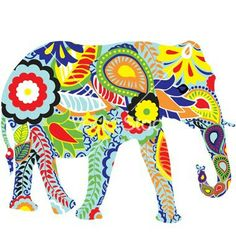 The artistic elephant