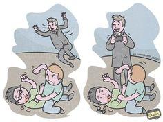 Top 16 des illustrations satiriques d'Anton Gudim, le bonhomme ne manque pas d'humour