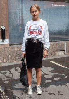 Alexandra - Hel Looks - Street Style from Helsinki (Somehow I feel like I put this one up already?)