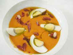 ¡¡¡salmorejo cordobés!!! Spanish Food, Dried Fruit, Marzipan, Chorizo, Charcuterie, Ham, Spices, Soup, Chocolate