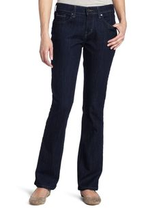 Levis 515 Womens Boot Cut Jeans Styled night Fall crafted dark size 4 NEW 29.99 http://www.ebay.com/itm/-/331922997826?
