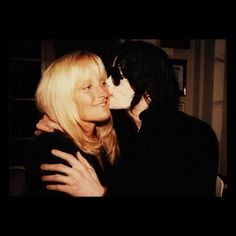 Mommy & Daddy from Paris Jackson's private photos. Debbie Rowe & MJ
