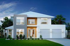 Twin Waters 330. Element Series. Exterior Design. Urban Façade. G.J. Gardner Homes Australia.