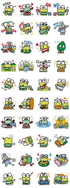 画像 - KEROKEROKEROPPI (Friends) by Sanrio - Line.me