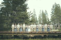 Rustic elegant mountain wedding at PJ's at Gray's Crossing in Truckee