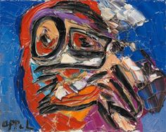 Karel Appel. COBRA art movement