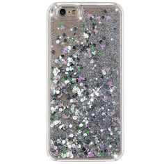 SILVER HOLOGRAM GLITTER IPHONE CASE (89 RON) ❤ liked on Polyvore featuring accessories, tech accessories, phone, phone cases, silver iphone case, glitter iphone case, iphone case, silver glitter iphone case and apple iphone cases