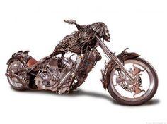 Beautiful custom bike.