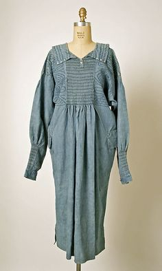 Smock. mid to late 19th century. British. linen.
