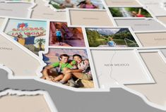 Capture a lifetime of memories by filling up your own 50 States Photo Map! Online Map Maker, Travel Collage, Create Picture, Photo Maps, Photo Printing Services, Travel Memories, Travel Advice, Travel Hacks, Travel Usa