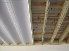 Under deck enjoy the area even on rainy days More - Deck Storage - Ideas of Deck Storage Under Deck Roofing, Patio Under Decks, Decks And Porches, Shed Under Deck Ideas, Under Deck Landscaping, Front Porches, Small Patio, Under Deck Storage, Outdoor Storage