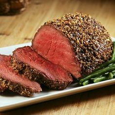 top sirloin roast - my favorite way to make steak since we don't have a grill. you cook it in the oven!
