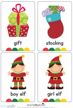 Brighten up your little ones Christmas with our new designed Christmas flash cards!You will receive 40 brightly coloured, 4 X flash cards containing common Christmas vocabulary words. Preschool At Home, Preschool Lessons, Wall Christmas Tree, Christmas Cards, Christmas Ornament, Pre K Sight Words, Vocabulary Flash Cards, Sight Word Flashcards, Elementary Spanish