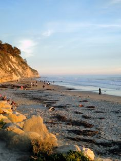 This is the beach across the street from where I used to live.  Santa Barbara is heaven on earth.  A very spiritual place!