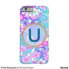 U Pick Monogram iPhone 6 Case