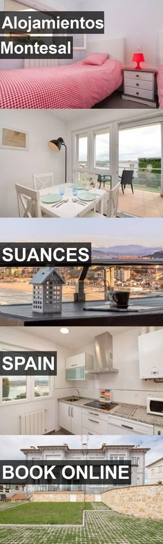 Hotel Alojamientos Montesal in Suances, Spain. For more information, photos, reviews and best prices please follow the link. #Spain #Suances #AlojamientosMontesal #hotel #travel #vacation