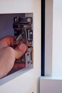 Flip Down Drawer Front W Charging Station Storage
