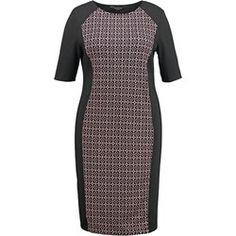 Dorothy Perkins Curve Sukienka z dżerseju nude/black