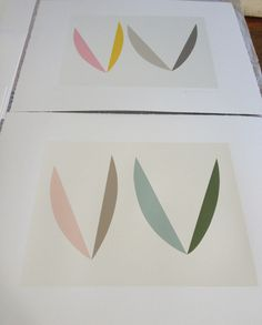 'In The Garden' both available again after finishing editions recently. Emma Lawrenson.com