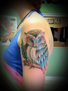 #tattoos #owls