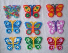 Butterflys by beadmerrily, via Flickr