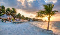 Sunrise bahia Kantena. El Dorado Seaside Suites by Karisma. Riviera Maya Mexico