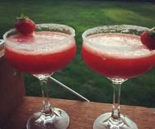 Rezept Erdbeer Daiquiri / Strawberry Daiquiri  von FranziNY - Rezept der Kategorie Getränke