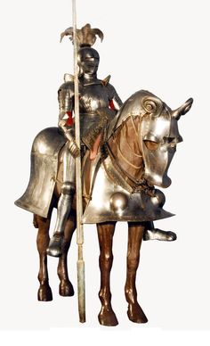 Knight's field armour for horse and rider by Anonymous from Poland or Germany, first half of the 16th century, Muzeum Wojska Polskiego