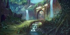 Art-Spire, Source d'inspiration artistique | Fantastic colorful environments by Tyler Edlin