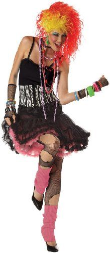 California Costumes Women's 80'S Cyndi Lauper Party Girl Outfit.
