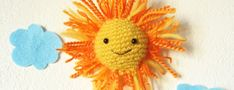 Amigurumi Sun free pattern by The Sun And The Turtle