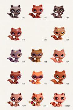 Nicole`s LPS blog - Littlest Pet Shop: Pets: Raccoon