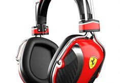 Tech or Cars? Ferrari Headphones