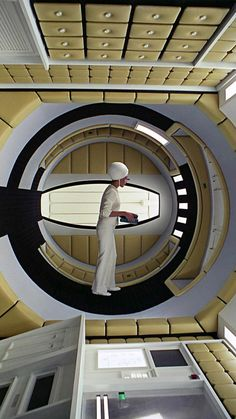Kubrick Film Science Fiction, Fiction Movies, Sf Movies, Good Movies, Stanley Kubrick, Design Set, Modern Design, 2001 A Space Odyssey, Sci Fi Films