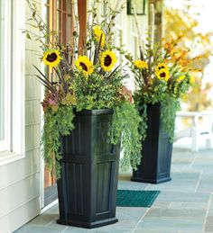 Front Porch Flower Planter Ideas 2